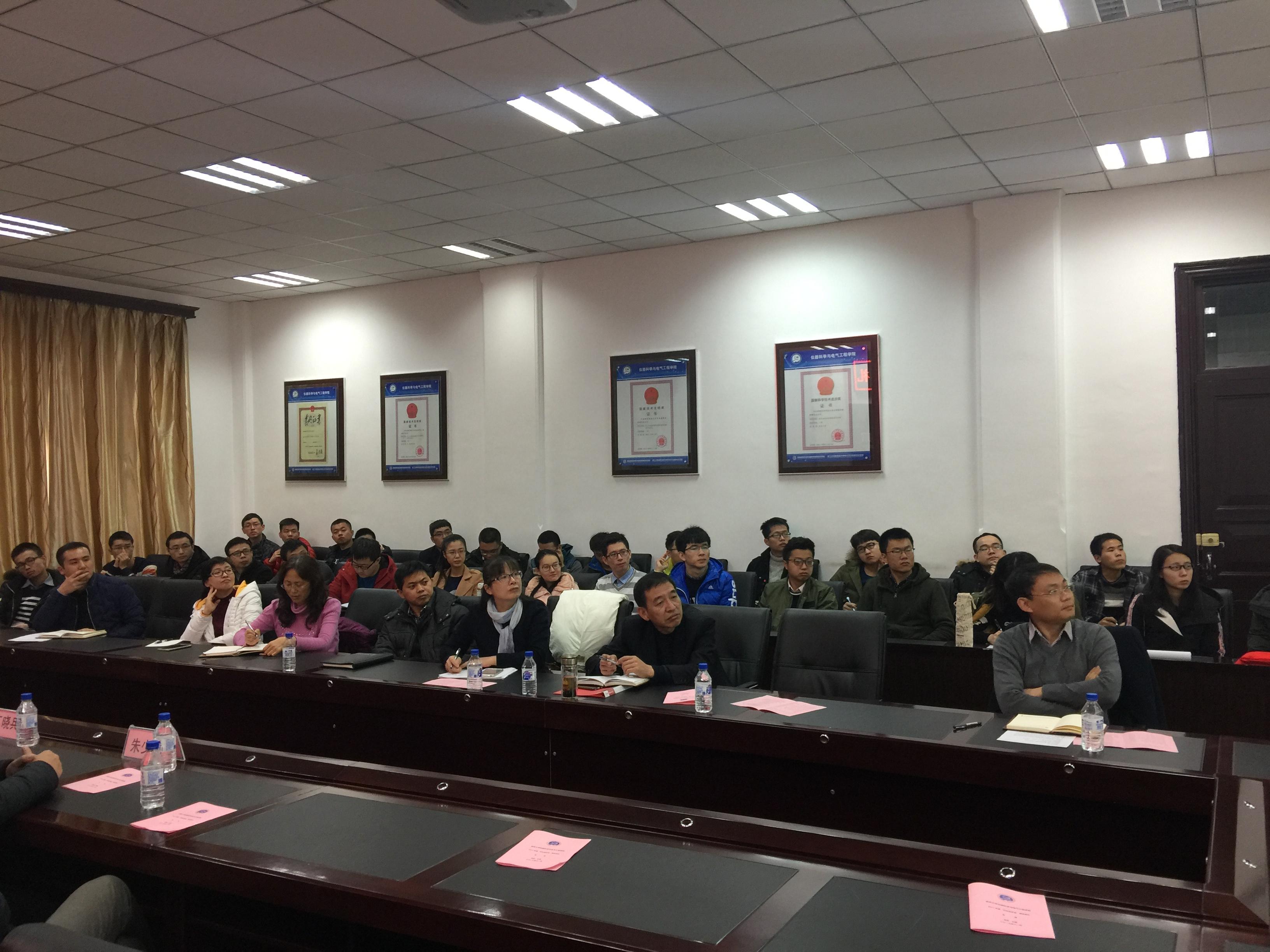 现任上海芯旺微电子技术有限公司董事长丁晓兵先生,返回母校吉林大学
